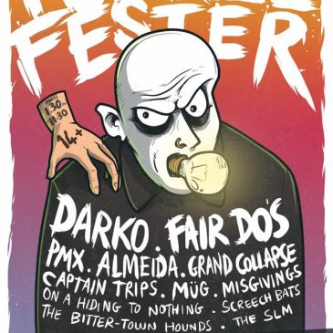 Punkle Fester all-dayer in Southampton