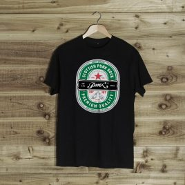 Premium Beer T-Shirt Black